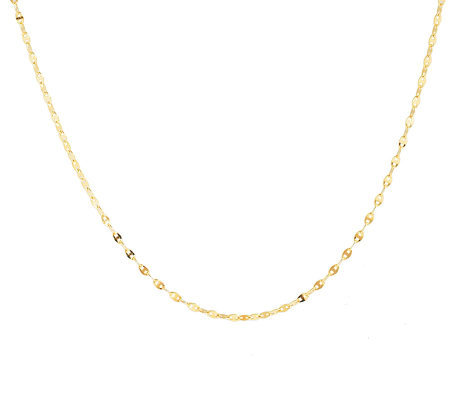 "Veronese 18K Clad 60"" Polished Marine Link Chain"