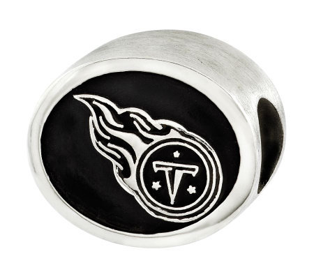 Sterling Tennessee Titans NFL Bead