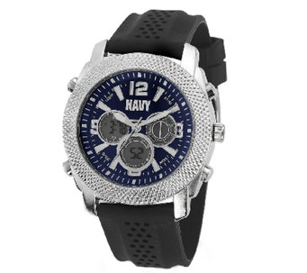 Wrist Armor Men's U.S. Navy C21 Watch Black & Blue Watch - J316358