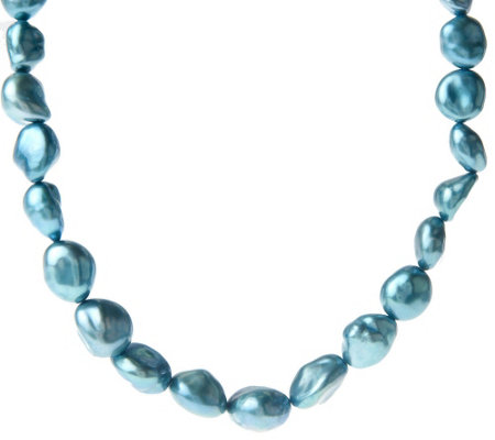 """As Is"" Honora Cultured Freshwater Pearl 18"" Keshi Necklace"