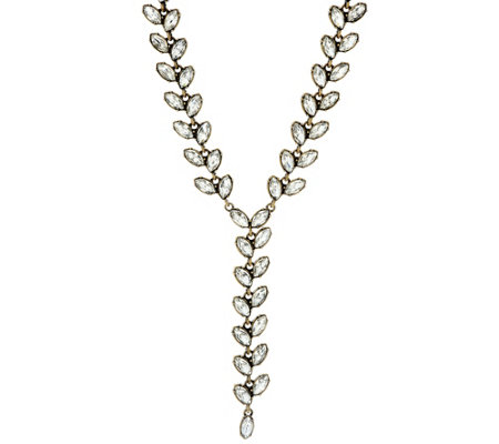 BaubleBar Ivy Y-Chain Necklace