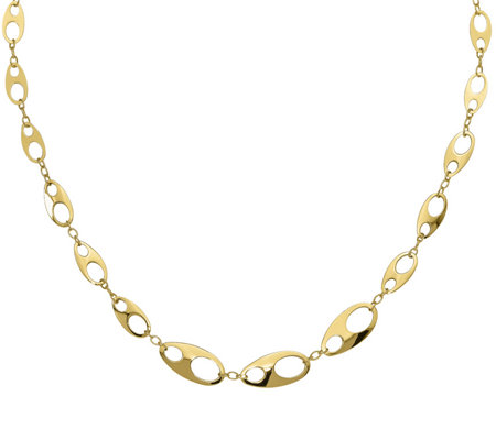 14K Modern Marine Link Necklace, 8.35g