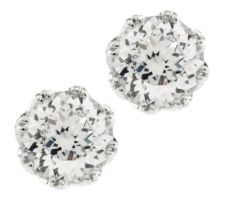 Tacori IV Diamonique Epiphany 4.30 cttw Bloom Round Studs