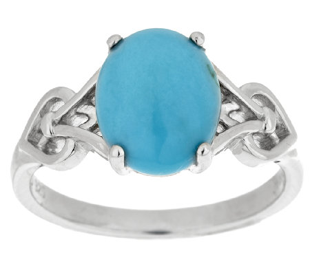 """As Is"" Sleeping Beauty Turquoise Sterling Ring"