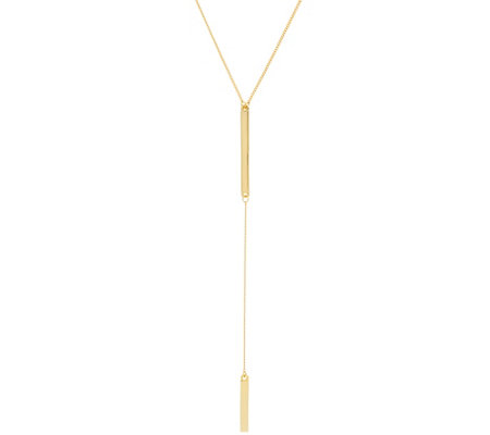 BaubleBar Bar Y-Chain Necklace
