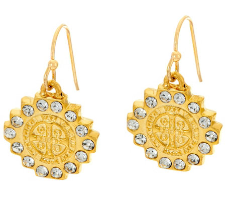 My Saint My Hero Brilliance Crystal Drop Earrings