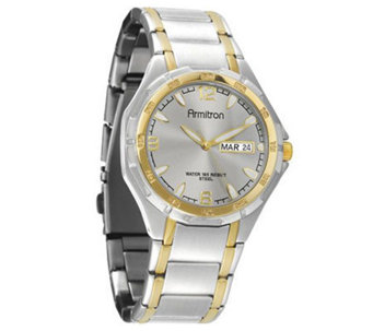 Armitron Men's Two-Tone Dress Watch - J338759
