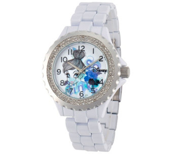 Disney Tinker Bell Women's Enamel Watch - J342259