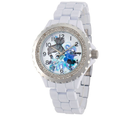 Disney Tinker Bell Women's Enamel Watch