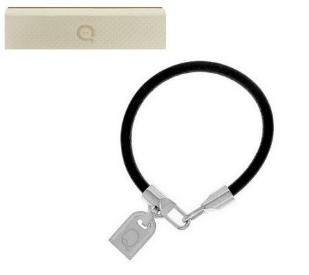 """As Is"" Bronzo Italia White Bronze Initial Tag Bracelet"