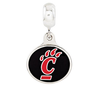 Sterling Silver University of Cincinnati DangleBead - J314960