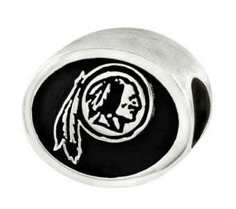 Sterling Washington Redskins NFL Bead - J315160