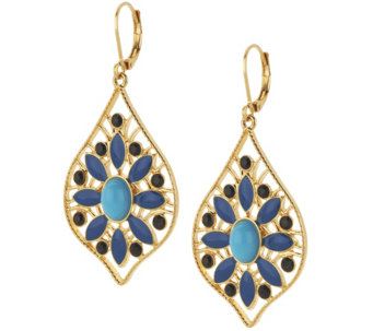Joan Rivers Moroccan Flair Lever Back Earrings - J318360