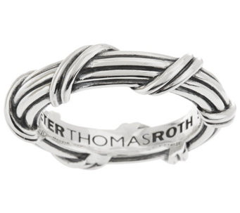 Peter Thomas Roth Sterling Signature Classic Band Ring - J328860