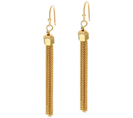 BaubleBar Hexagon Drop Earrings