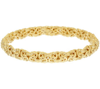 """As Is"" Oro Nuovo Small Woven Byzantine Bangle 14K - J331460"