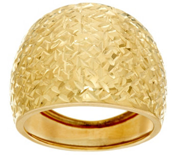 Dieci Diamond Cut Band Ring 10K Gold - J332260