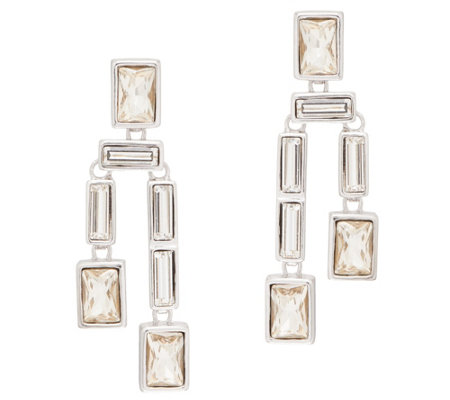 Grace Kelly Collection Simulated Diamond Drop Earrings