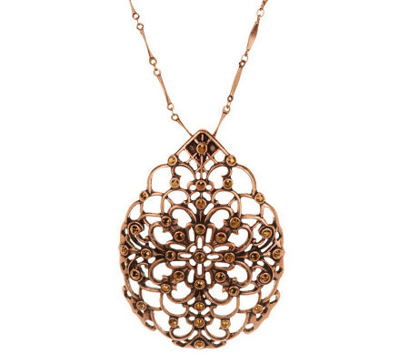 Filigree Enhancer with Chain