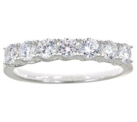 7-Stone Diamond Band Ring, 14K Gold, 1.00 cttw,by Affinity