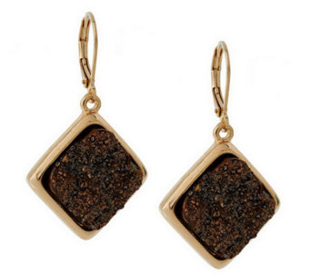 Joan Rivers Simulated Drusy Drop Earrings - J266462