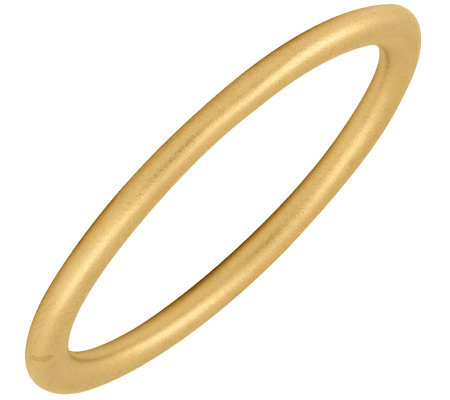 Simply Stacks Sterling 18K Yellow Gold-Plated 2.25mm SatinRing