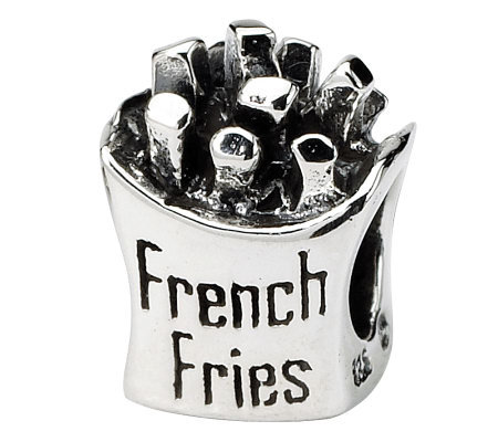 Prerogatives Sterling French Fries Bead