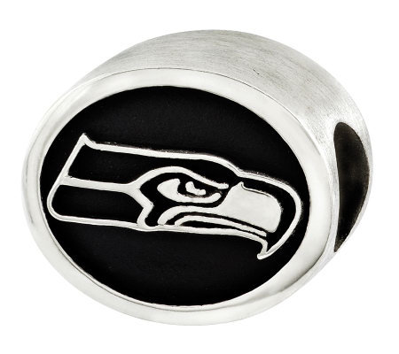Sterling Seattle Seahawks NFL Bead