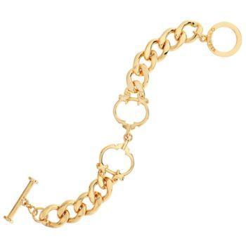 C. Wonder Interlocking Status C Station Curb Link Bracelet