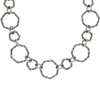 "Peter Thomas Roth Sterling Signature Classic 20"" Necklace - J328862"