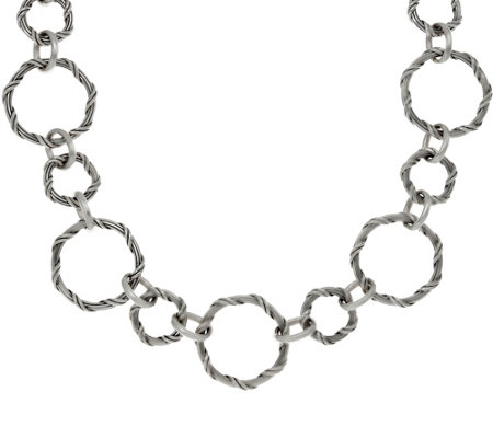 "Peter Thomas Roth Sterling Signature Classic 20"" Necklace"