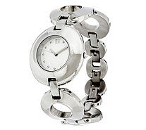 RLM Stainless Steel Organic Circle Adjustable Watch - J329662