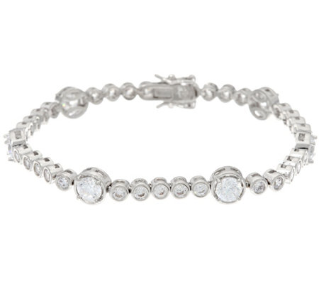 The Elizabeth Taylor 5.35 ct Simulated Diamond Bracelet