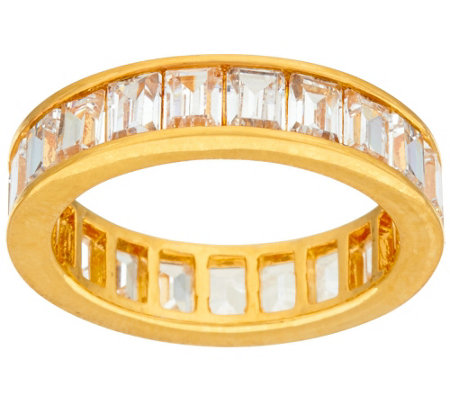 """As Is"" The Elizabeth Taylor 4.20cttw Simulated Diamond Band"