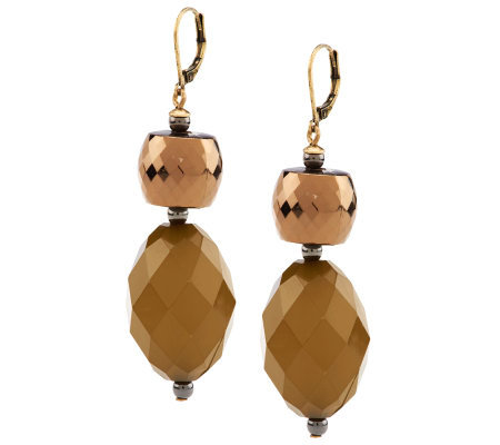 Linea by Louis Dell'Olio Multi Facet Bead Earrings