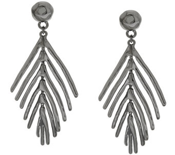 Linea by Louis Dell'Olio Palm Leaf Earrings - J290363