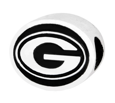 Sterling Silver University of Georgia Bead