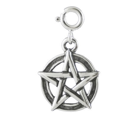 Sterling Dimensional Star Design Charm