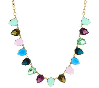 LOGO Links by Lori Goldstein Reverse Teardrop Necklace - J329463