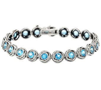 "Sterling Silver 4.00 cttw 6-3/4"" Tennis Bracelet by Or Paz - J331663"