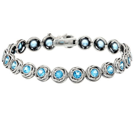 "Sterling Silver 4.00 cttw 6-3/4"" Tennis Bracelet by Or Paz"