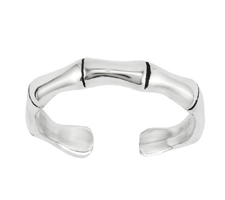 Sterling Bamboo Toe Ring