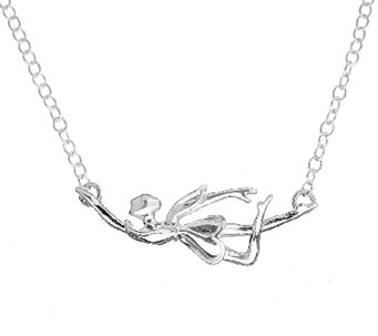 Hagit Sterling Dancing Fairy Necklace - J338063