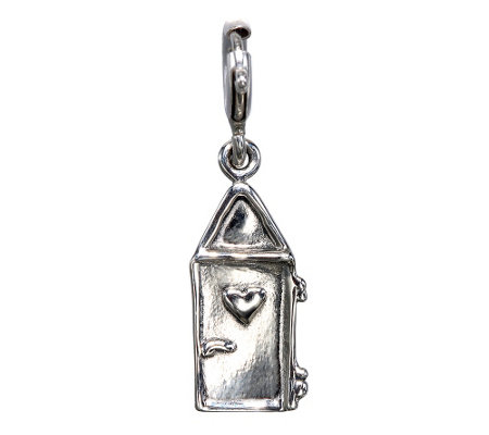 Hagit Sterling Heart Door Charm