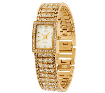 Linea by Louis Dell'Olio Crystal Bracelet Watch - J271864