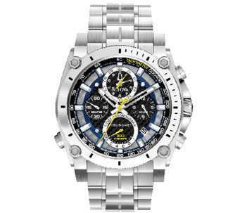Bulova Men's Precisionist Chronograph Watch - J316464