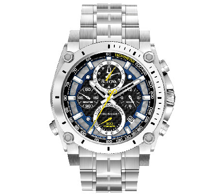 Bulova Men's Precisionist Chronograph Watch