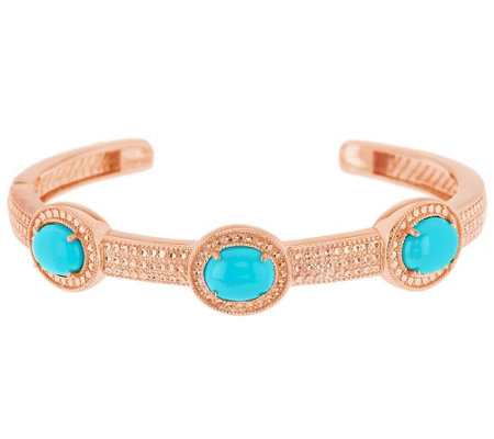 """As Is"" Sleeping Beauty Turquoise Sterl Diamond Cut Large Cuff"