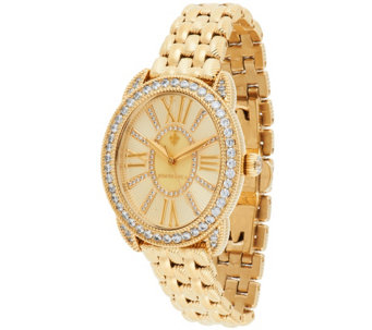 Judith Ripka Stainless Steel Madison Watch - J323364