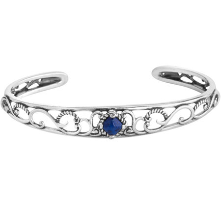 Carolyn Pollack Possibilities Lapis Cuff Bracelet